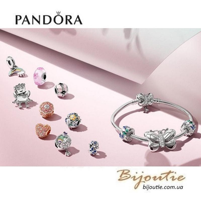 Шарм PANDORA ― Розовые бабочки 797855EN160 - Фото 2