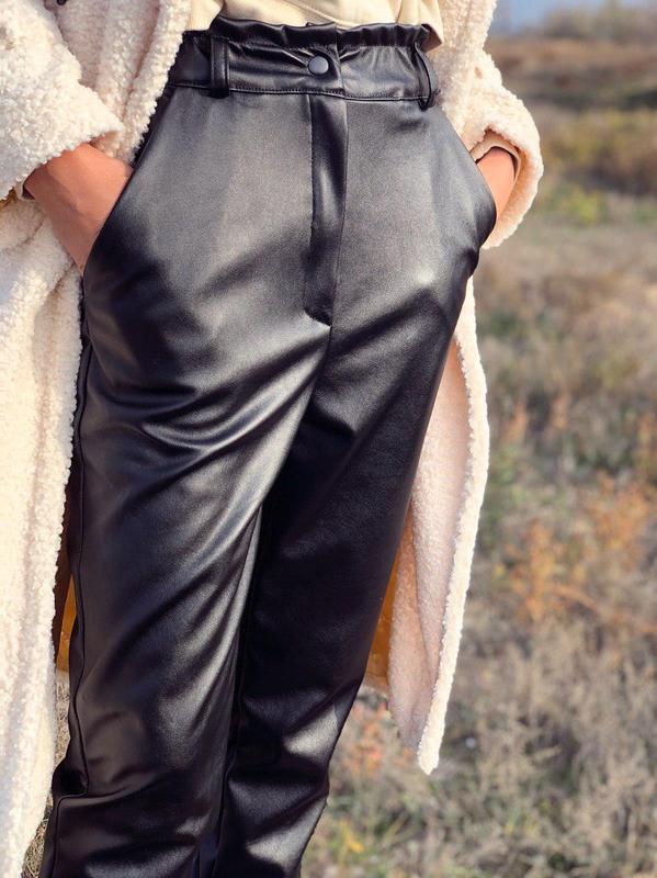 Кожные штаны