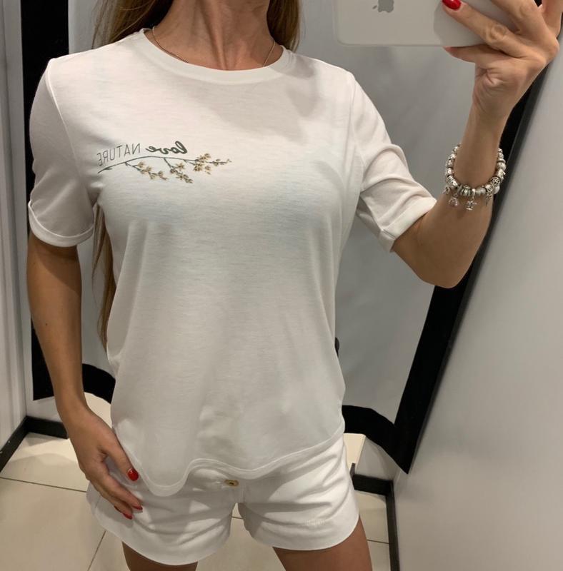 Белая футболка mohito есть размеры