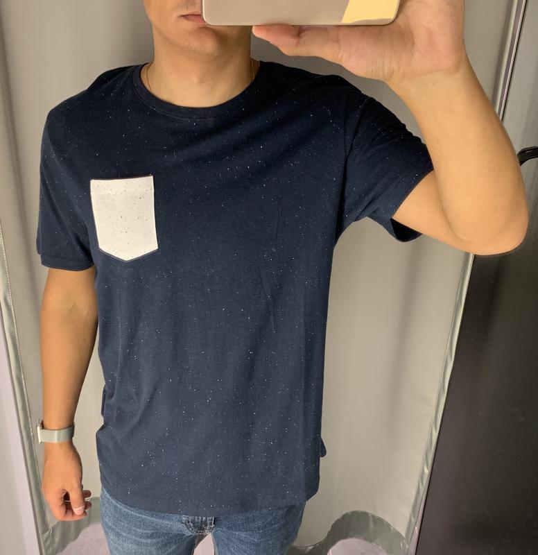 Меланжевая футболка fishbone есть размеры