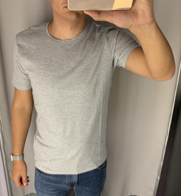 Базовая серая футболка fishbone есть размеры