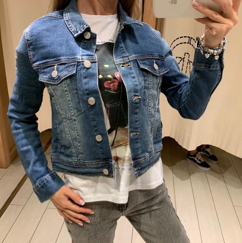 Джинсовый пиджак джинсовка house есть размеры