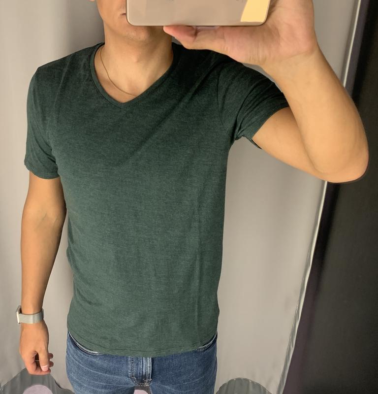 Базовая зеленая футболка fishbone есть размеры