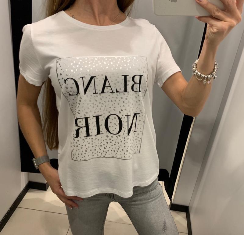 Стильная футболка mohito есть размеры