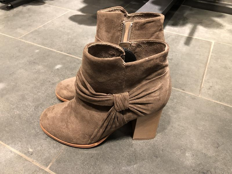 Коричневые ботинки ботильоны amisu размер 38