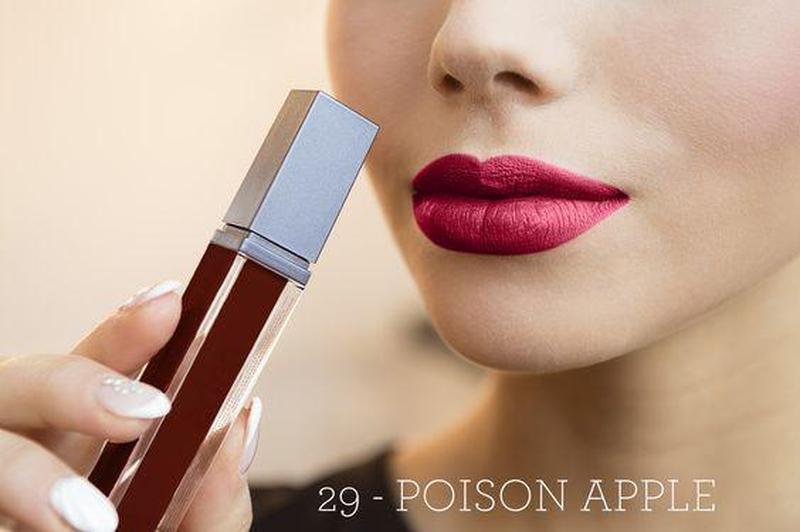 Матовая стойкая жидкая помада aden cosmetics 7 ml 29 к.4083