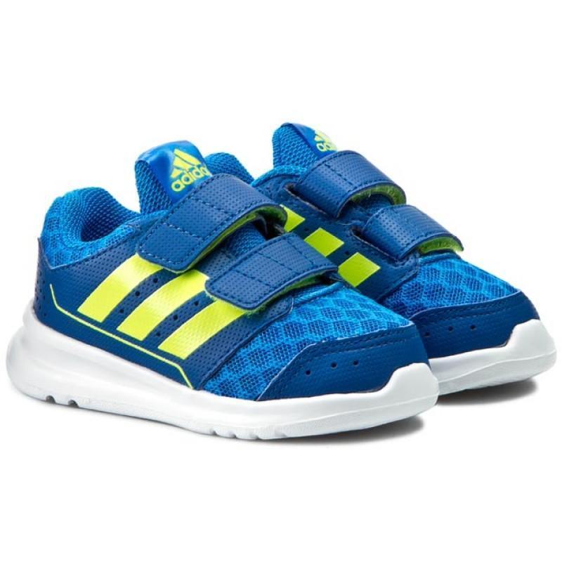 Суперлегкие детские кроссовки ботинки на липучке adidas lk spo...