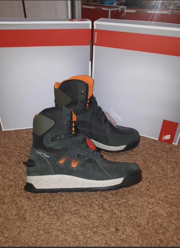 Зимние ботинки new balance на широкую ногу 9-42.5