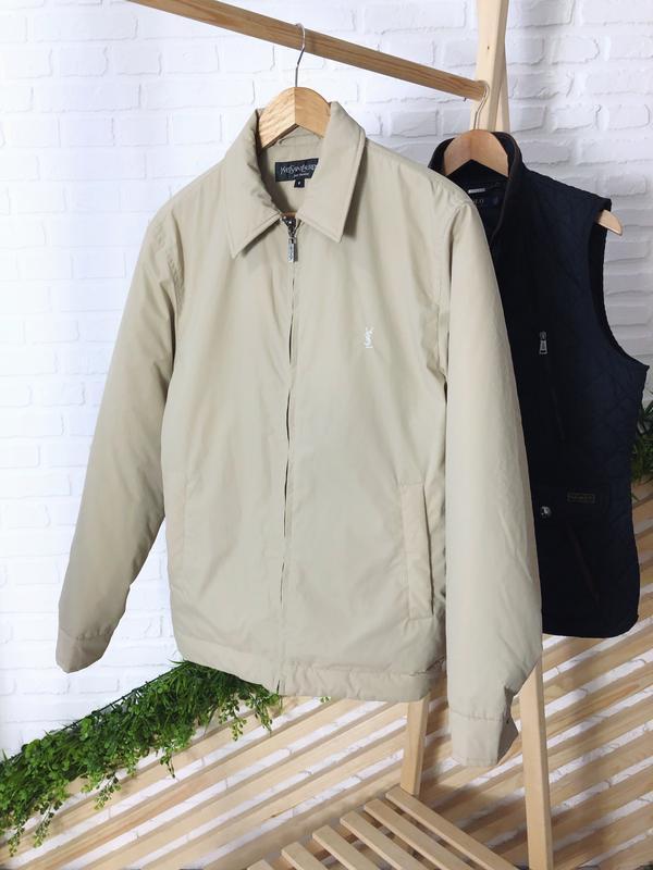 Мужская куртка от yves saint laurent  оригинал - Фото 5