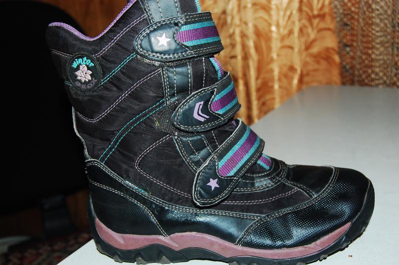 Зимние ботинки geox 35 размер