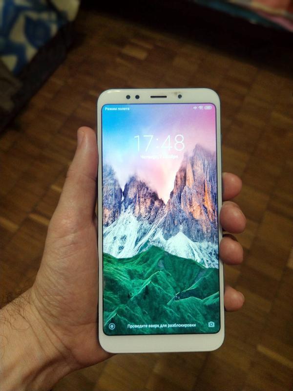 Xiaomi Redmi 5 plus 3/32 BLUE (Global) с новым аккумулятор