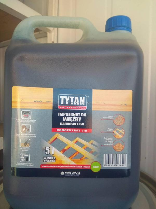 TYTAN концентрат 1:9 5л Титан антисептик пропитка захист
