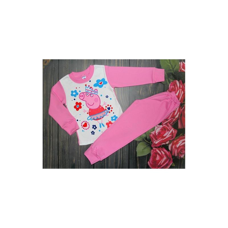 Пижама Свинка Пеппа 2-6 лет ( 719 )