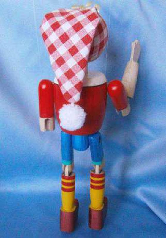 Деревянная кукла-марионетка «Буратино» - Фото 3