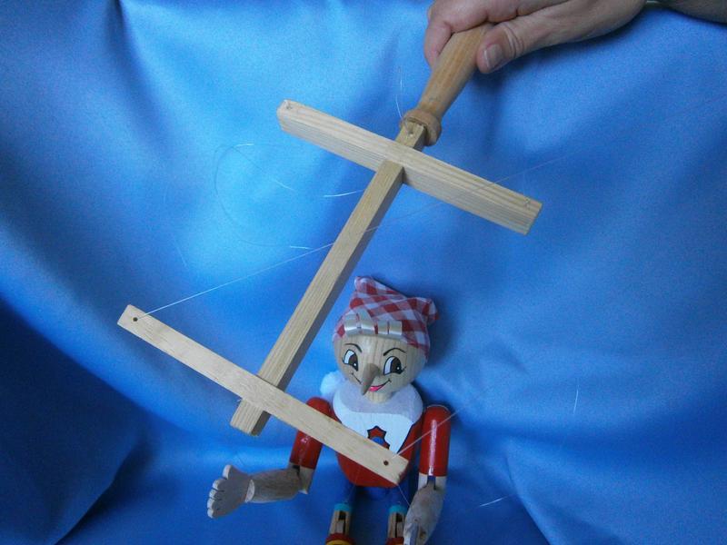 Деревянная кукла-марионетка «Буратино» - Фото 5