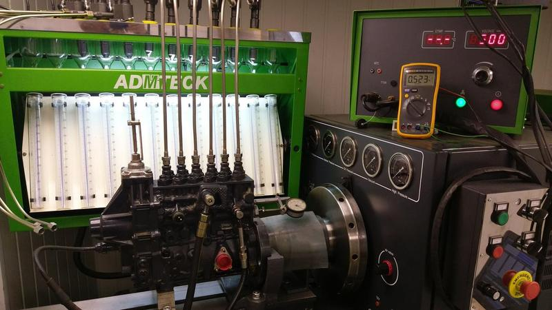 Ремонт топливной аппаратуры дизельных авто