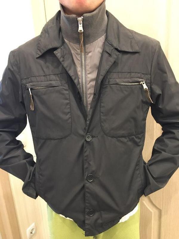 Мужская куртка united colors of beneton - Фото 3