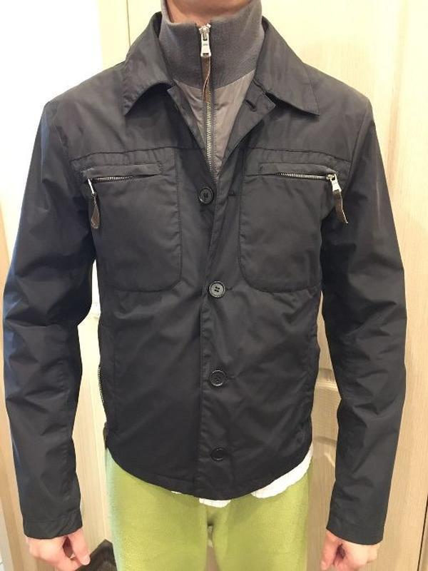 Мужская куртка united colors of beneton - Фото 4