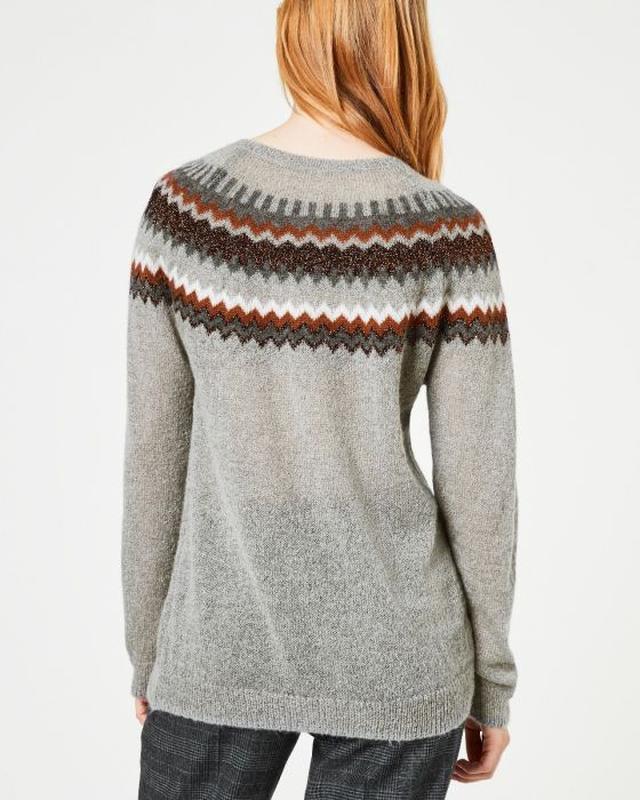 Мягкий и теплый свитер  с мохером hallhuber - Фото 2