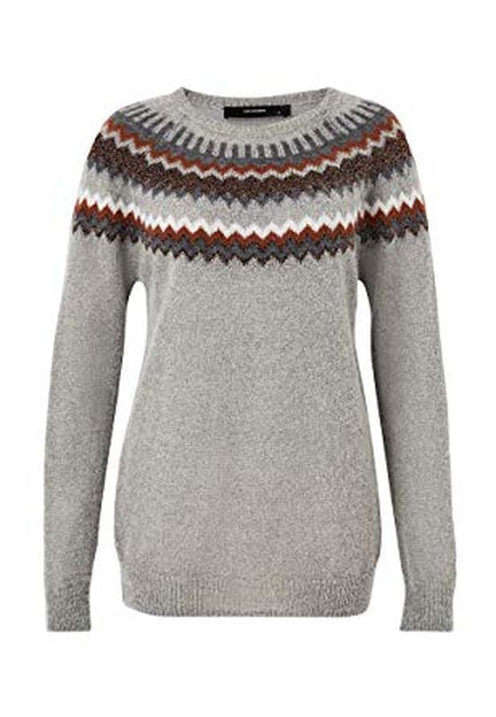 Мягкий и теплый свитер  с мохером hallhuber - Фото 3