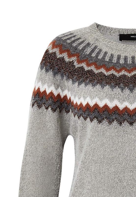 Мягкий и теплый свитер  с мохером hallhuber - Фото 4
