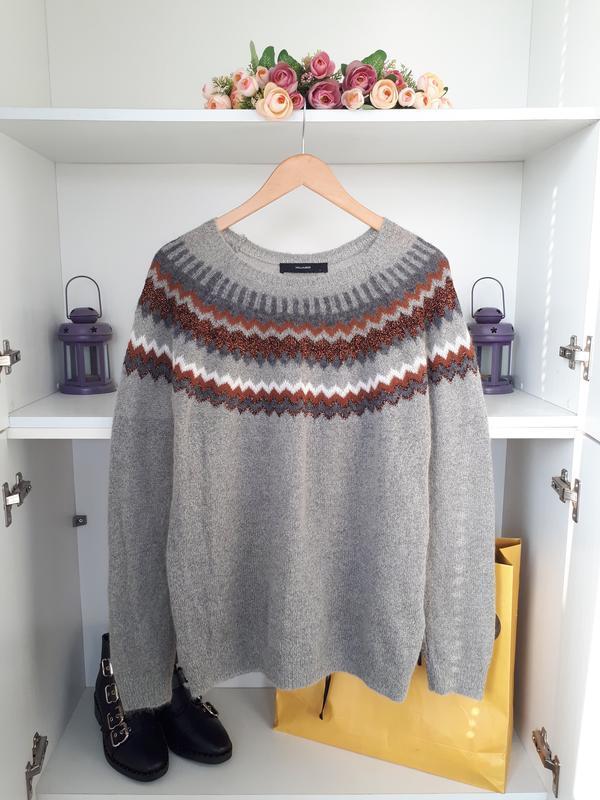 Мягкий и теплый свитер  с мохером hallhuber - Фото 5