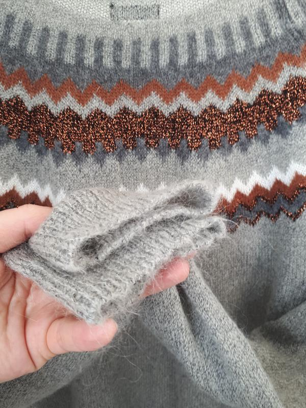 Мягкий и теплый свитер  с мохером hallhuber - Фото 7