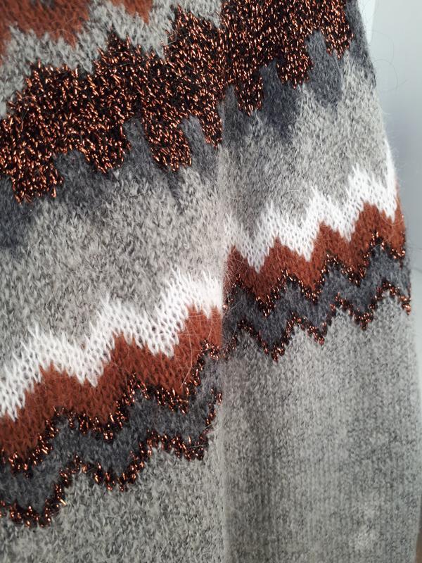 Мягкий и теплый свитер  с мохером hallhuber - Фото 9