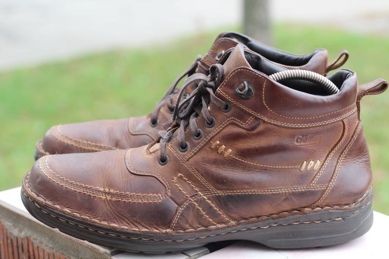 Зимние кожаные ботинки gallus 45-46