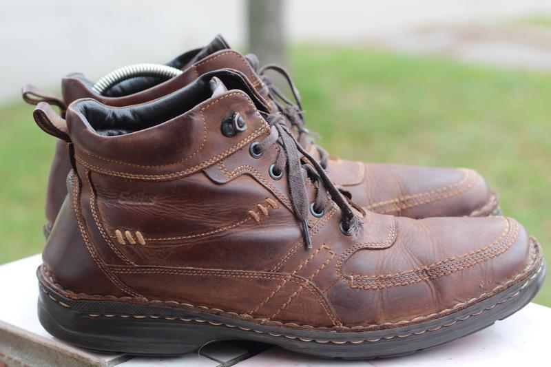 Зимние кожаные ботинки gallus 45-46 - Фото 2