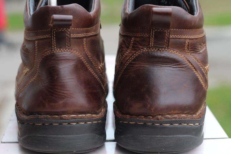 Зимние кожаные ботинки gallus 45-46 - Фото 3