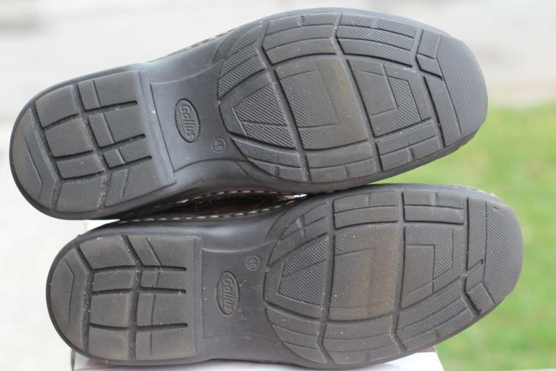 Зимние кожаные ботинки gallus 45-46 - Фото 4