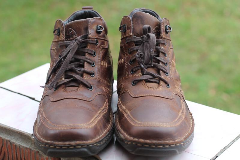 Зимние кожаные ботинки gallus 45-46 - Фото 5