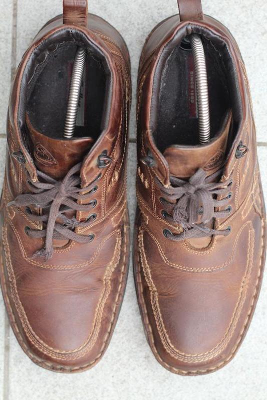 Зимние кожаные ботинки gallus 45-46 - Фото 6