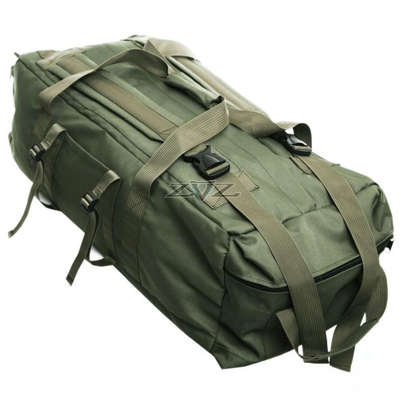 Усиленная сумка-рюкзак Tactic-80л - Фото 2