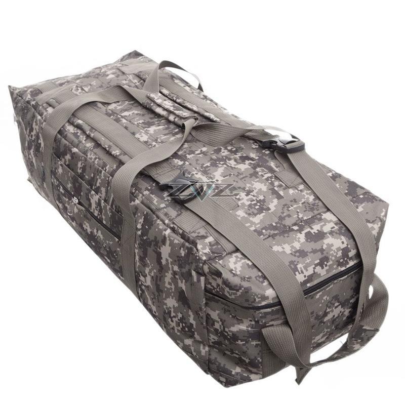 Усиленная сумка-рюкзак Tactic-80л - Фото 3