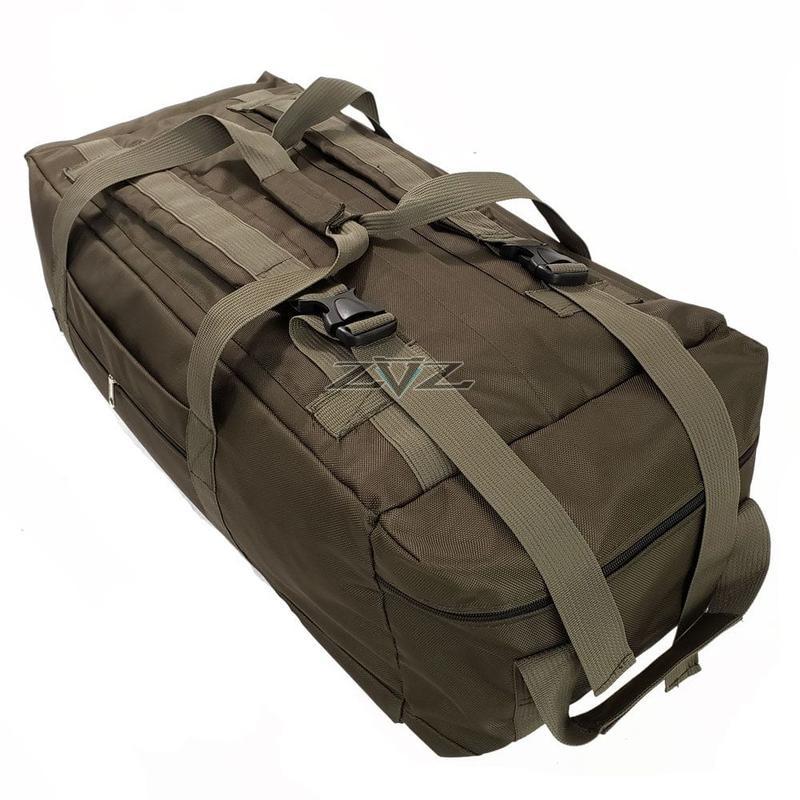 Усиленная сумка-рюкзак Tactic-80л - Фото 4