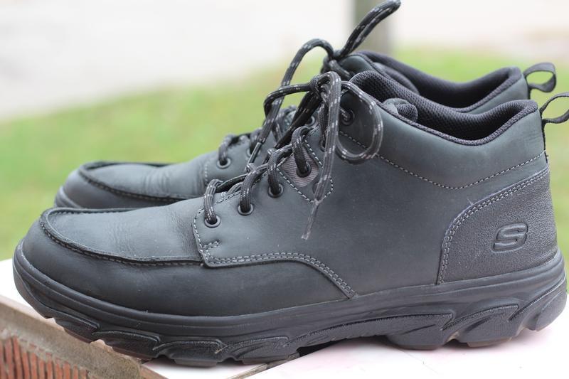 Ботинки натуральная кожа skechers 44-45