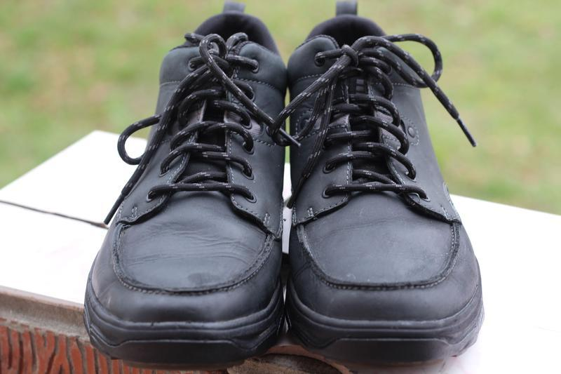 Ботинки натуральная кожа skechers 44-45 - Фото 3