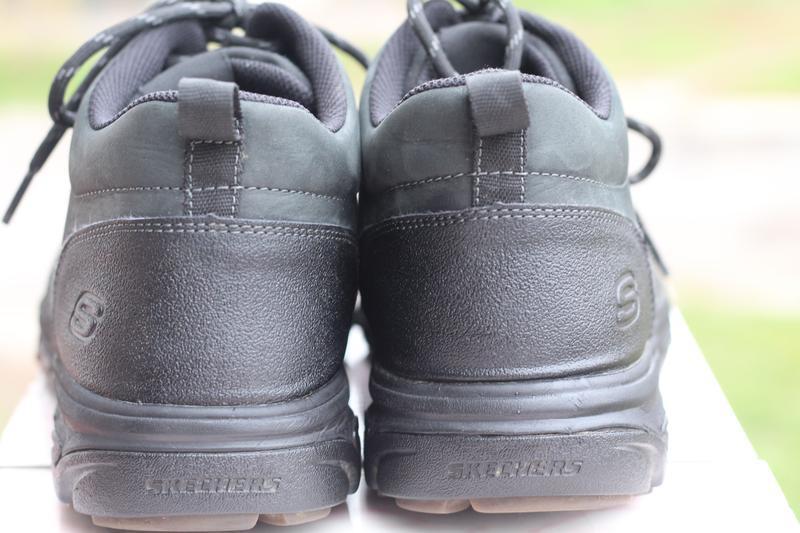 Ботинки натуральная кожа skechers 44-45 - Фото 6