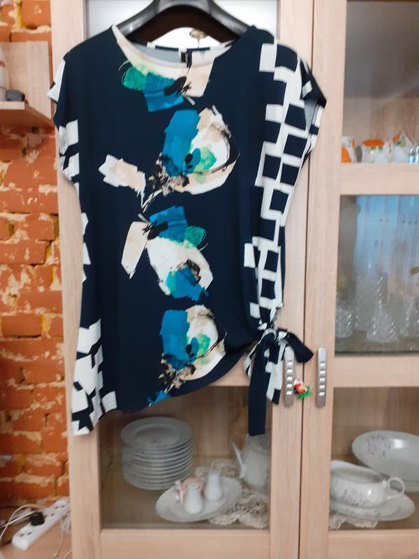Асимметричная вискозная блуза mekstone