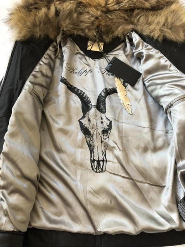 Куртка кожаная PHILIPP PLAIN - Фото 7