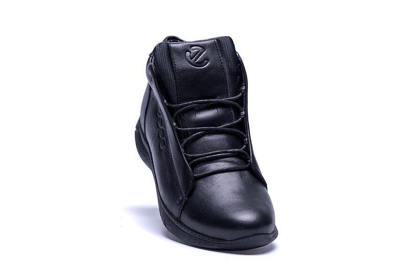 Кожаные мужские зимние ботинки шкіряні зимові чоловічі черевик... - Фото 4
