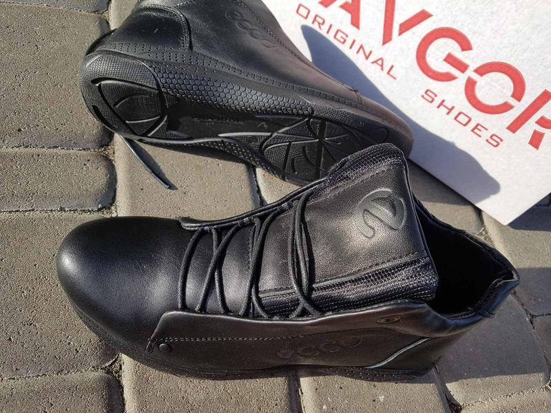 Кожаные мужские зимние ботинки шкіряні зимові чоловічі черевик... - Фото 9