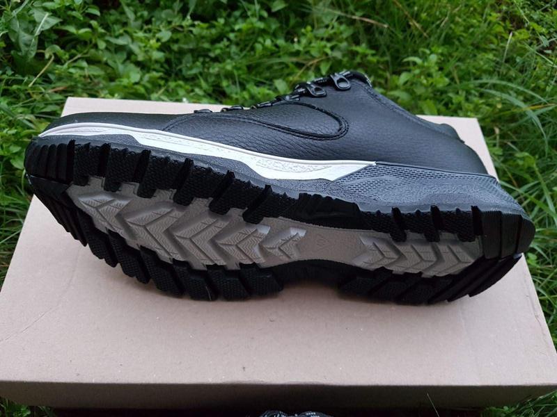 Кожаные мужские зимние ботинки зимові чоловічі шкіряні черевик... - Фото 8