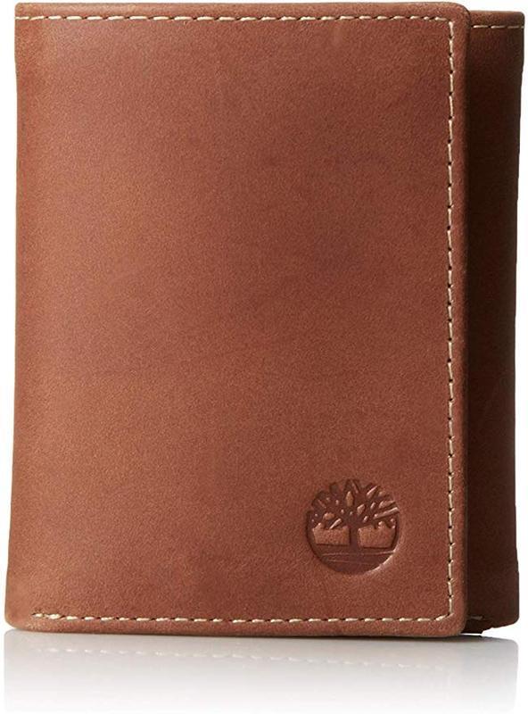 Кожаный мужской кошелек timberland портмоне натуральная кожа о...