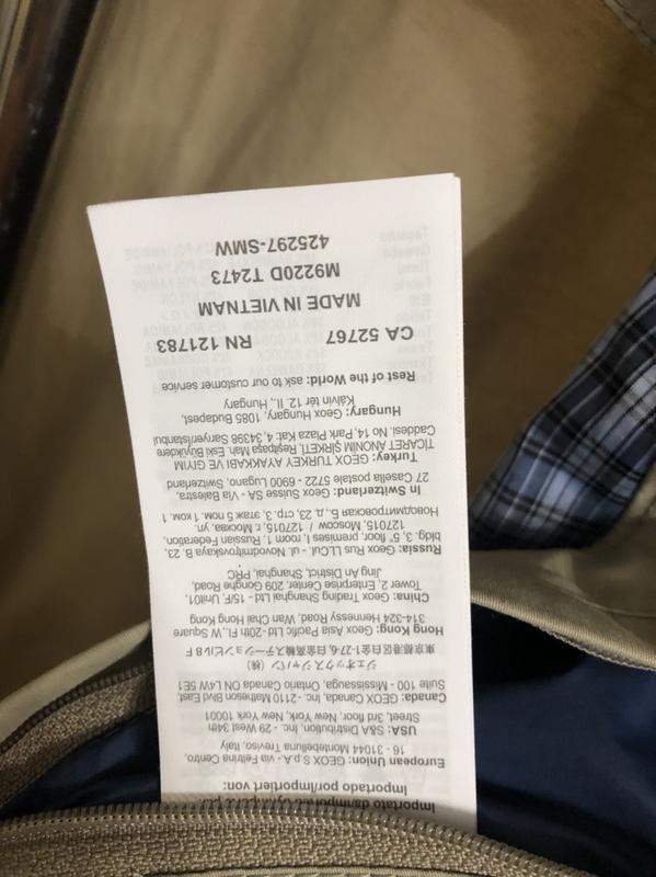 Куртка ветровка geox, новая! - Фото 8