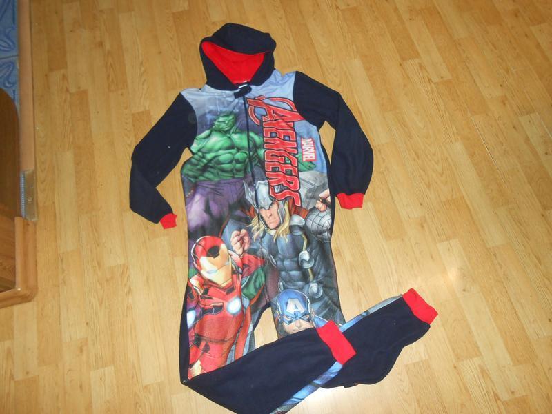 Пижама-человечек на мальчика 13-14 лет