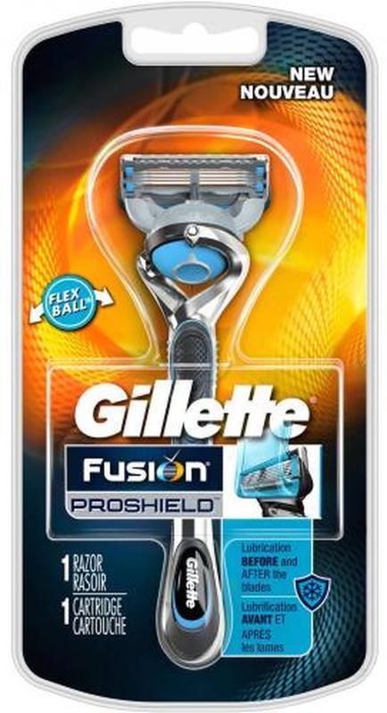 Станок для бритья Gillette Fusion ProShield Chill с сменной кассе