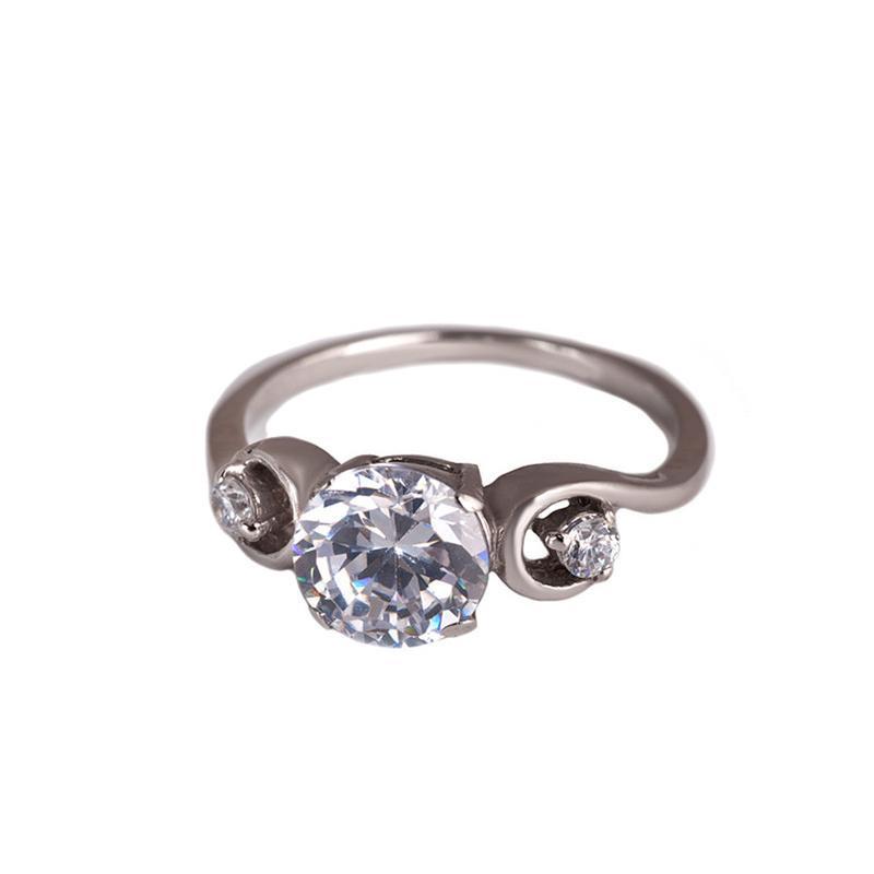 Кольцо из серебра «мадемуазель»